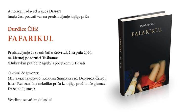 """PROMOCIJA """"FAFARIKULA"""" ĐURĐICE ČILIĆ"""