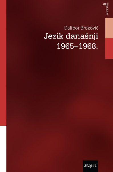 JEZIK DANAŠNJI 1965-1968.
